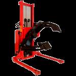 Breedspoor rollen rotator met doorzichtige achtergrond