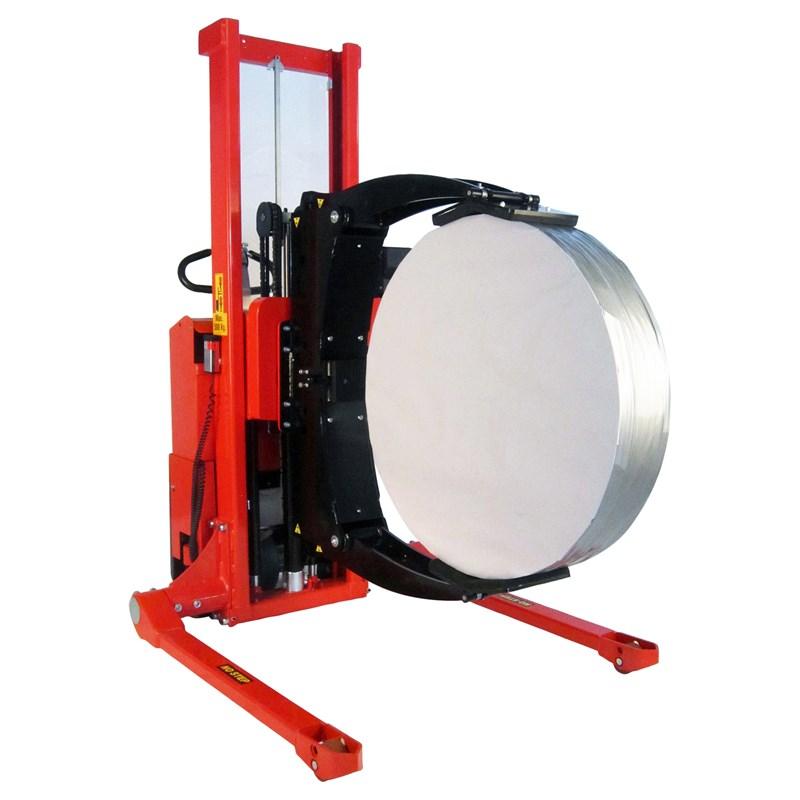 Breedspoor rollen rotator die een rol kantelt op 90°