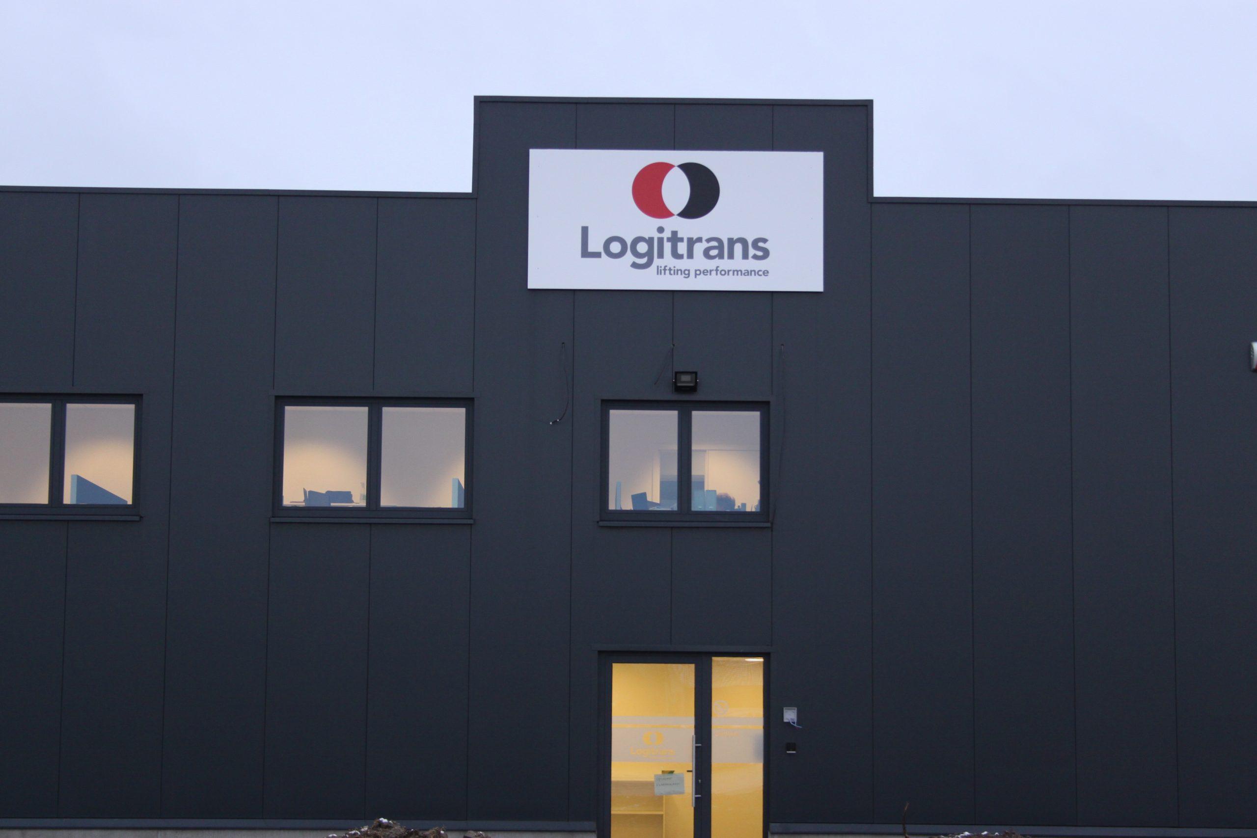 Nieuwe Logitrans vestiging in Drongen